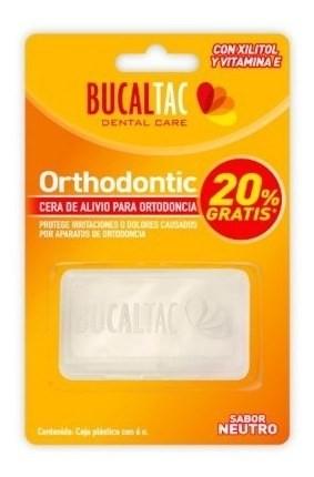 Cera Para Ortodoncia Sabor Neutro Bucal Tac