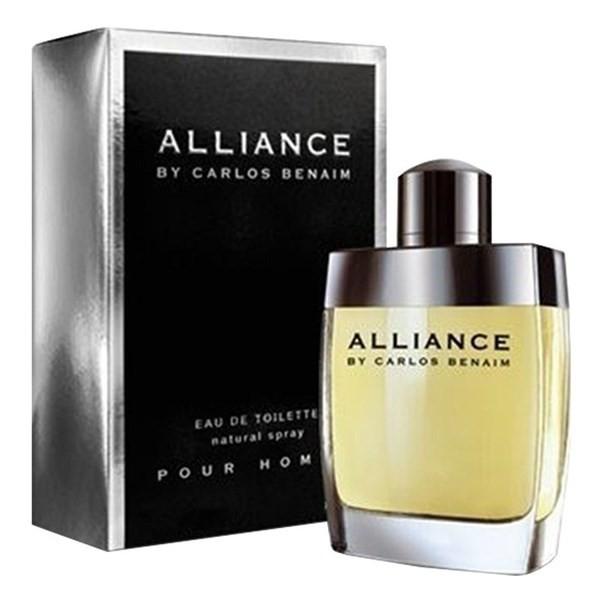 Perfume Hombre Alliance By Carlos Benaim Edt 80ml