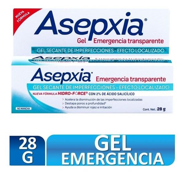 Asepxia Gel Spot Emergencia Transparente 28 Gr
