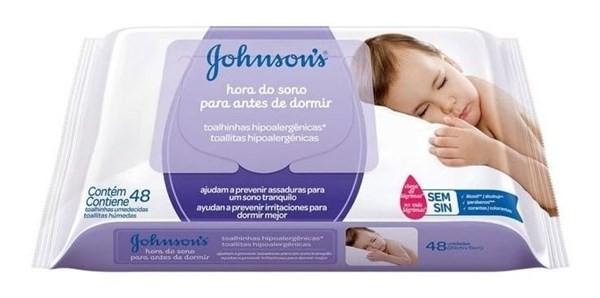 Johnson's Baby Toallitas Húmedas Dulces Sueños X 48 Un #1
