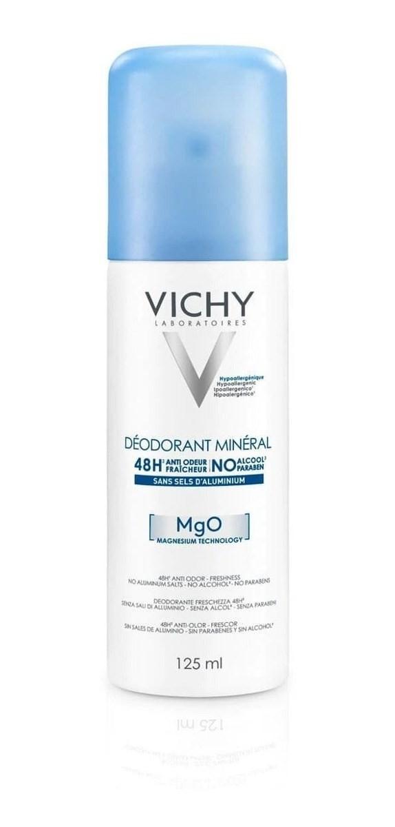 Vichy Desodorante Mineral Aerosol 125ml Sin Sales Aluminio