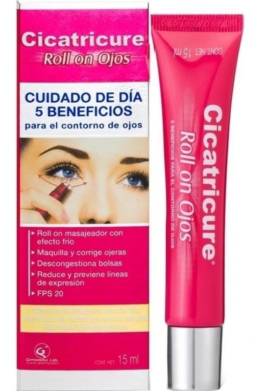 Cicatricure Roll On Ojos Cuidado De Dia 5 Beneficios