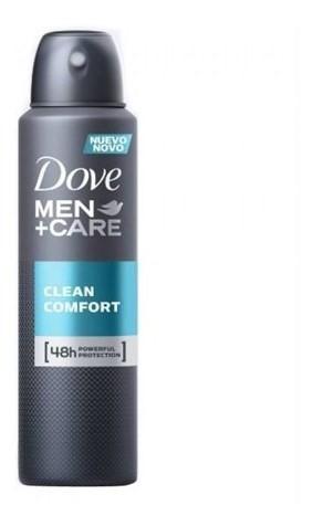 Desodorante Dove Men Care Antitransp Clean Confort 150ml