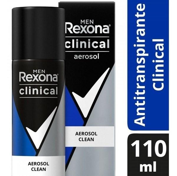 Rexona Clinical Desodorante En Aerosol Hombre X110ml Clean #1