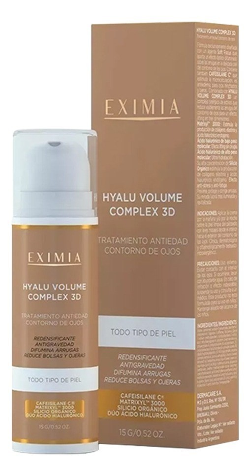 Eximia Hyalu Volume Complex 3d X 15g