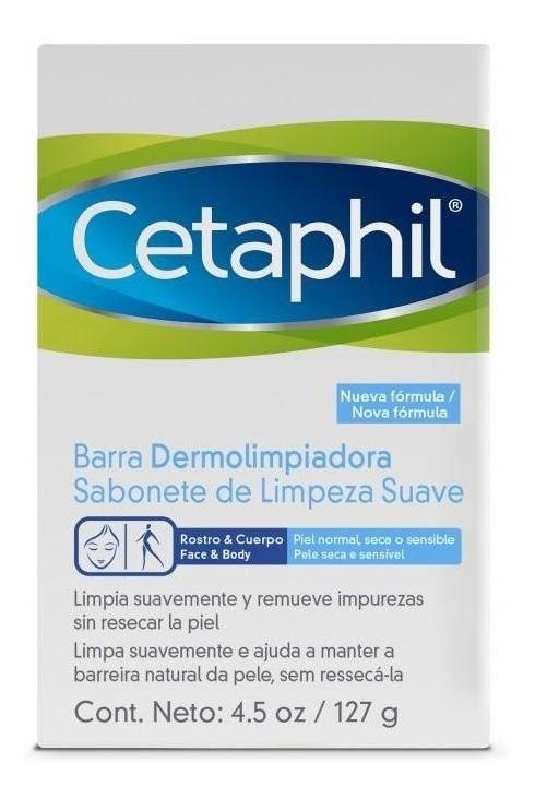 Cetaphil - Barra Dermolimpiadora - 127gr
