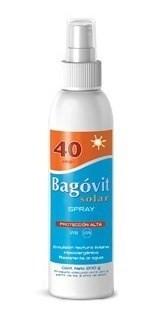 Bagovit Protector Solar 40fps Emulsión Spray 200g