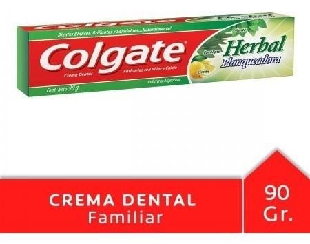 Crema Dental Colgate Herbal Blaqueadora 90g