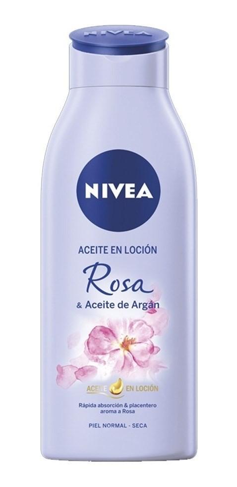 Nivea Loción Corporal Rosa Y Aceite De Argán 200ml