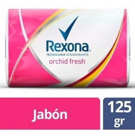 Jabón Rexona Orchid Fresh 125g
