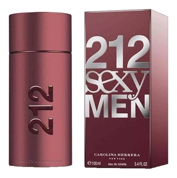 Perfume Hombre Carolina Herrera 212 Sexy Men Edt 100ml