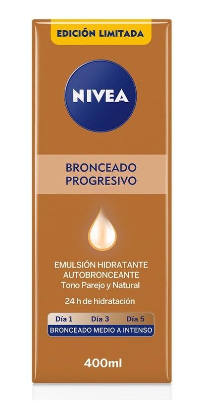 Nivea Bronceador X400ml Body Emulsión Hidratante