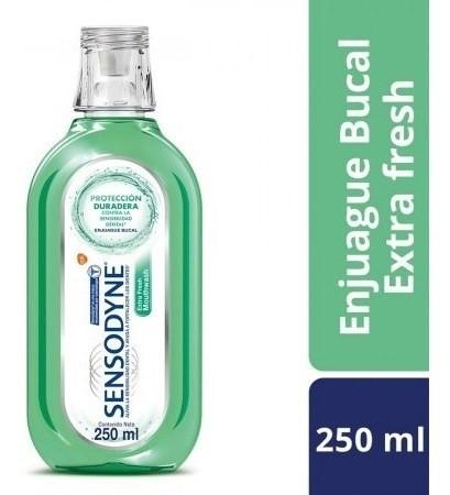 Sensodyne Extra Fresh Enjuague Bucal Para Dientes Sensibles