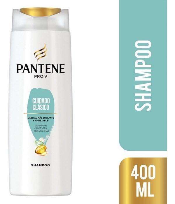 Shampoo Pantene Pro-v Cuidado Clásico 400 Ml