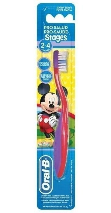 Cepillo Dental Oral B Pro-salud Stages Mickey Mouse