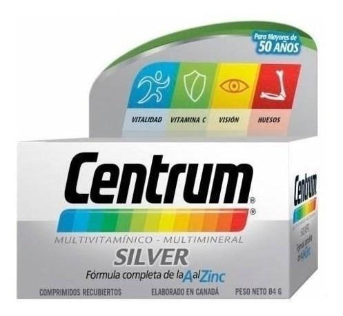 Centrum Silver +50 Años Multivitaminico 30 Comprimidos
