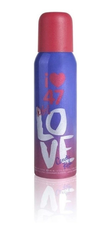 Desodorante 47 Street Rebel X 140 Ml Love