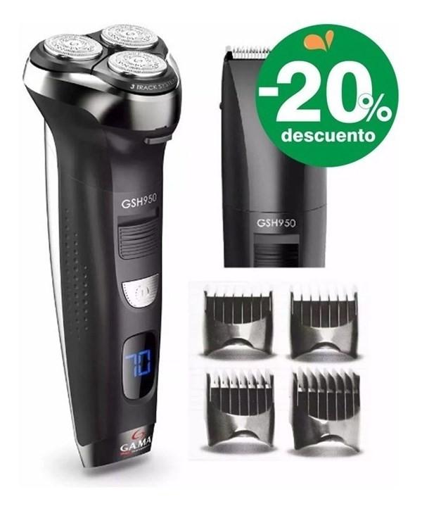 Afeitadora Electrica Y Trimmer Gama Gsh950 Intercambiable