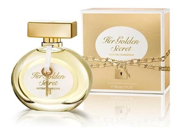 Perfume Antonio Banderas Her Golden Secret Mujer Edt 50ml