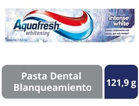 Crema Dental Aquafresh Intense White X 121 Gr