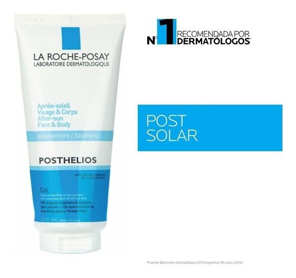 La Roche Posthelios Gel Post Solar Cara Cuerpo 200ml
