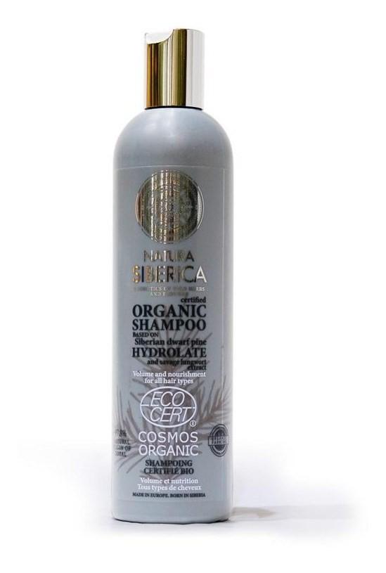 Natura Siberica Shampoo Volumen Y Nutrición - 400ml