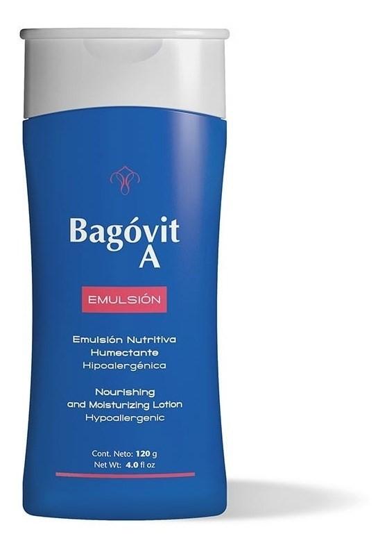 Bagóvit Emulsión A Nutritiva Humectante X 120 Gr