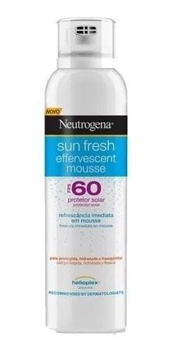 Neutrogena Sun Fresh Mousse Efervescente Fps60 200ml