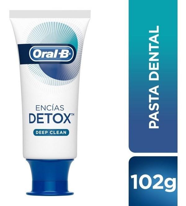 Pasta Dental Oral-b Detox 102 G