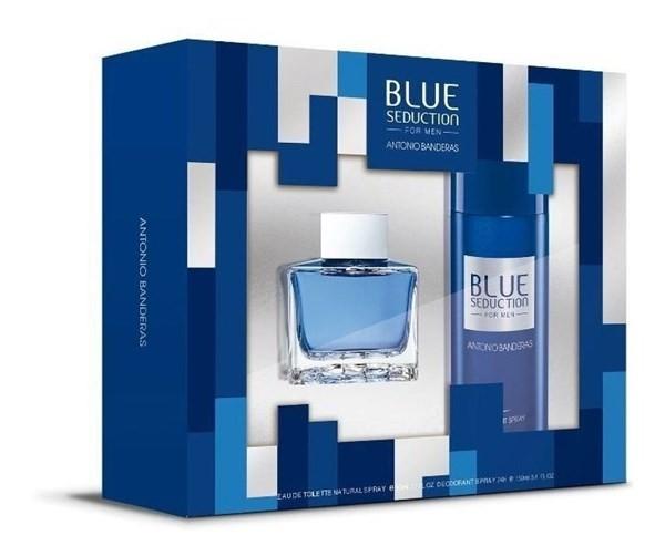 Antonio Banderas Blue Seduction Edt X100ml +deo