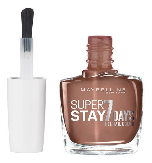 Esmalte De Uñas Maybelline Superstay 7 Days Brick Tan