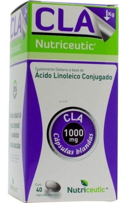 Nutriceutic Suplemento Dietario Cla X40caps.
