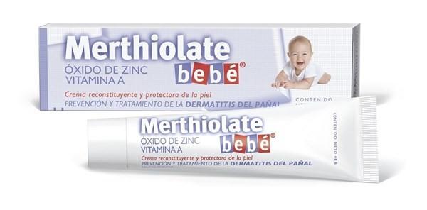 Merthiolate Bebé Crema X 40 Grs