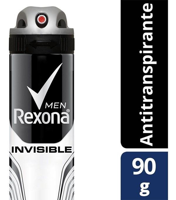 Desodorante Rexona Antitranspirante Invisible Men 150ml