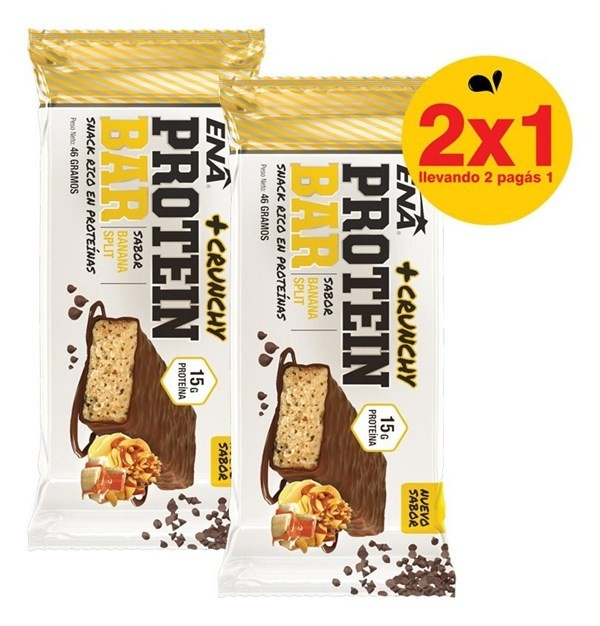 Enargy Bar 2x1 Ena Sport - Proteina Y Carbohidratos