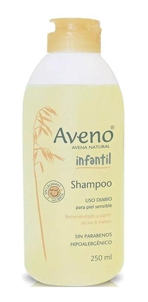 Aveno Shampoo Infantil Sin Parabenos Natural Avena 250ml