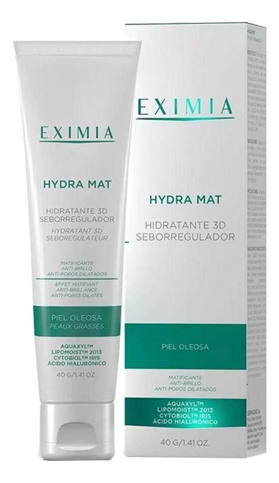 Eximia Hydra Mat Hidratante 3d Seborregulador Piel Grasa 40g #1