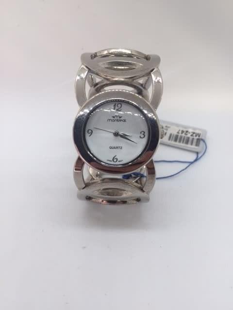 Reloj Dama Montreal Pulcera Metalisada -mz