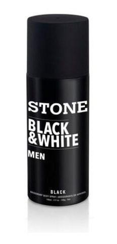 Desodorante Stone B&w Black X 150ml