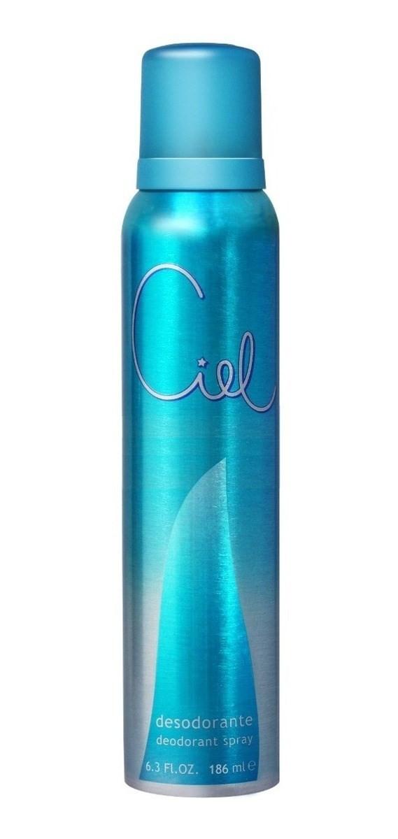 Desodorante Para Mujer Ciel En Aerosol X 123 Ml #1