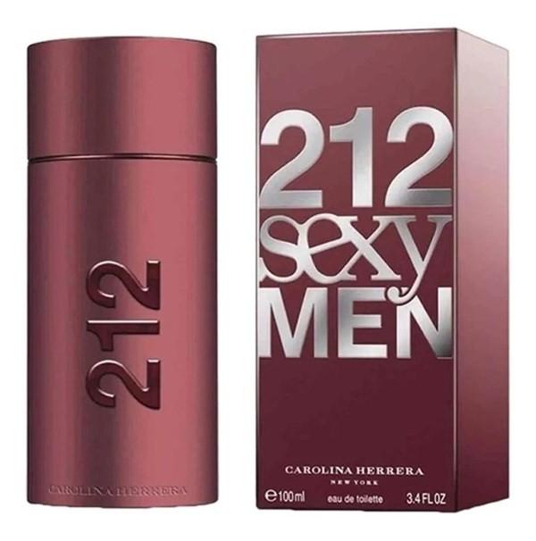 Perfume Hombre Carolina Herrera 212 Sexy Men Edt 100ml
