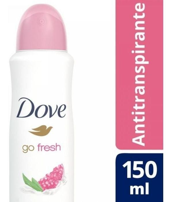 Desodorante Dove Antitranspirante Granada Y Verbena 150ml
