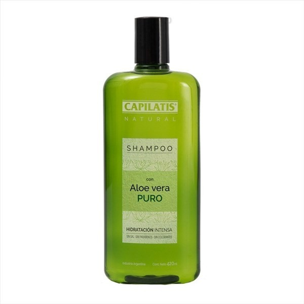 Capilatis Shampoo Aloe Vera Orgánico X 420 Ml