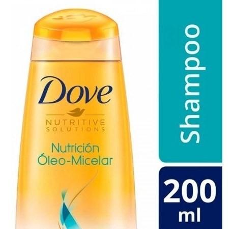 Shampoo Dove Nutrición Oleo Micelar 200ml