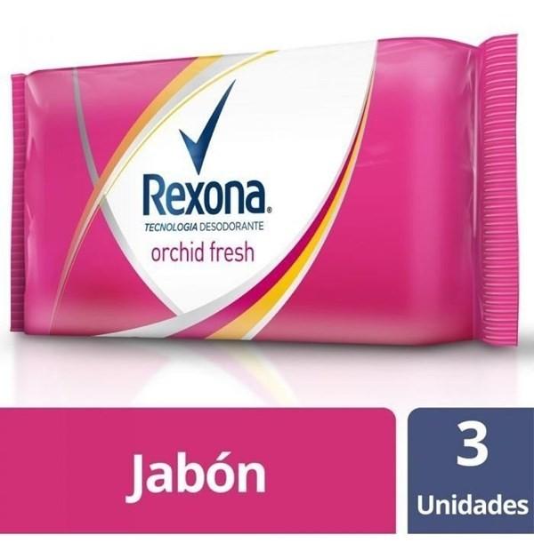 Jabón Rexona Orchid Fresh X3un X125g