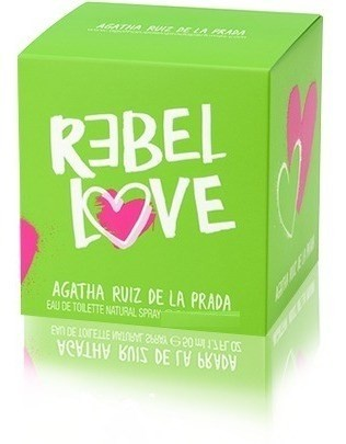 Perfume Rebel Love Agatha Ruiz De La Prada Edt 80ml