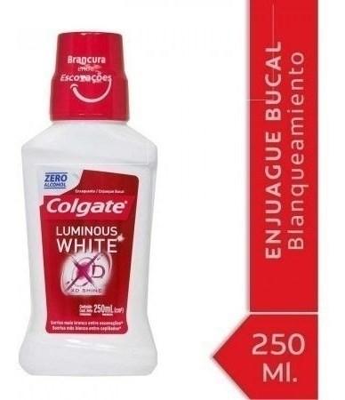 Enjuague Bucal Colgate Luminous White 250ml #1