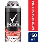 Desodorante Rexona Protección Antibacterial 150ml #1