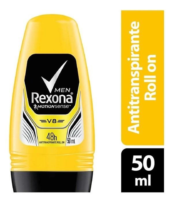 Desodorante Rexona Antitranspirante V8 Roll On 50ml