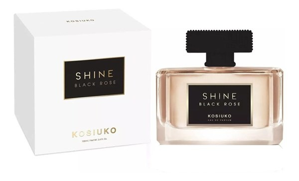 Perfume Kosiuko Shine  Black Rose  Edp X 100ml